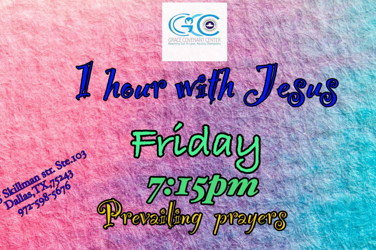 1hr with Jesus